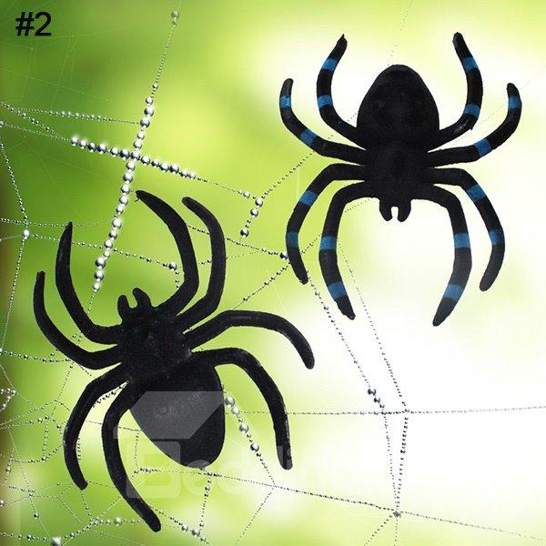 Lifelike Fearful Fuzzy Spider Halloween Decoration