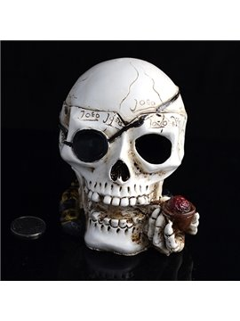 Creative Smoking Skull Head Ashtray Halloween Gift