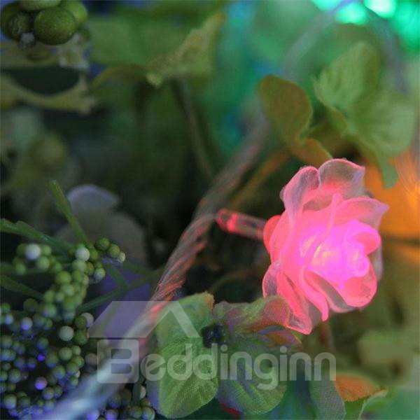 Romantic Rose Style LED 10m Christmas Light