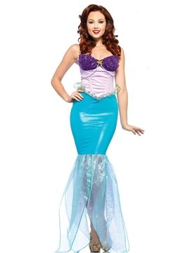 High Quality Charming and Sexy Mermaid Princess Costume