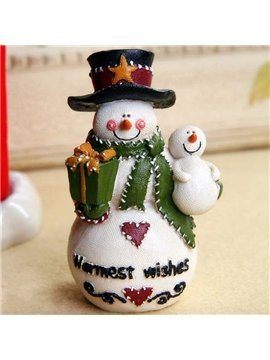 Lovely Snowman with Snowbaby Christman Decoration