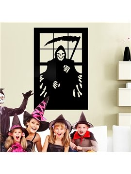 Halloween Horror Festival Decoration The Death Grim Reaper Removable Wall Sticker