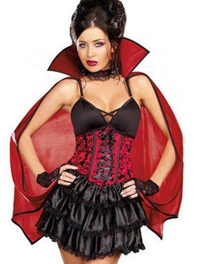 Hot Selling Attractive Unique Vampire Design Costume