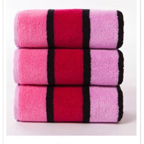 New Arrival Fashion Concise Strip Design Cotton Towel
