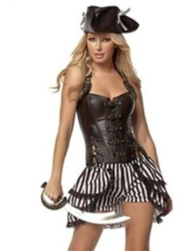 New Style Faddish Pirate Design Halloween Costume