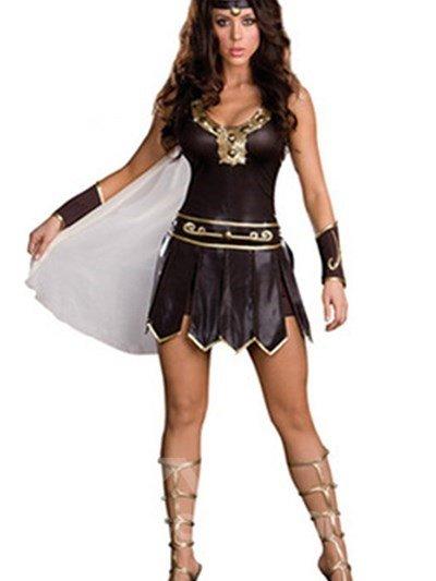 New Style Sexy Roman Princess Design Halloween Costume