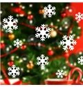 Festival Christmas Glass Decoration Snow Flakes Removable Wall Sticker