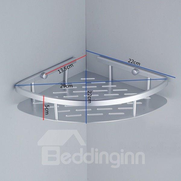 Concise Triangle Shape Bathroom Shelf