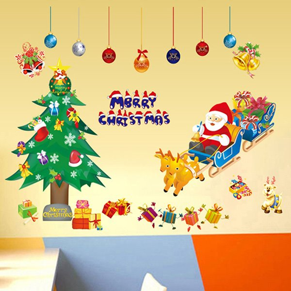 Festival Christmas Theme Nursery Removable Wall Sticker11478332