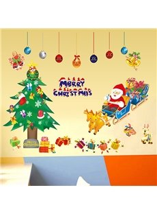 Festival Christmas Theme Nursery Removable Wall Sticker11478332