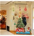 Festival Christmas Glass Wall Decoration Extra Large Removable Wall Sticker