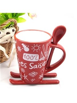 Creative Sledge Design Christmas Gifts Ceramics Coffee Mug