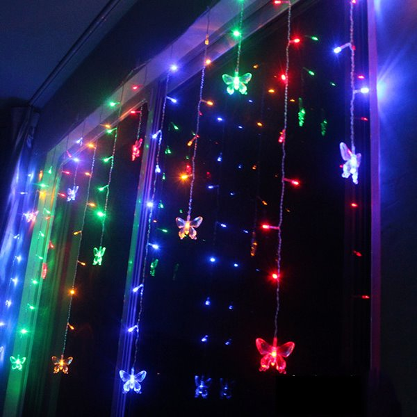 Interesting Festival Christmas Decoration Butterfly Design Neon Strip Led  Lights Beddin With Decoration Mariage Led.