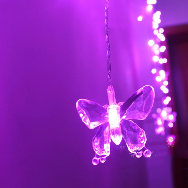 Festival Christmas Decoration Butterfly Design Neon Strip LED Lights