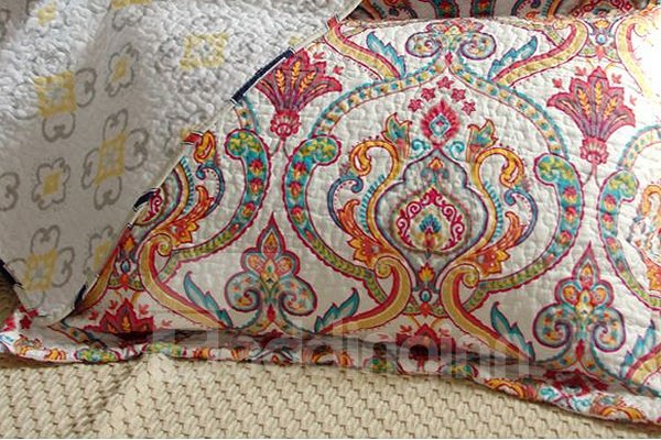 European Jacquard Style 3-Piece Cotton Bed in a Bag