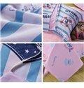Stripes Pattern Ocean Theme Kids3-Piece Duvet Cover Set