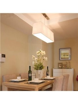 Modern Classic Rectangular Dining Room Pendant Light