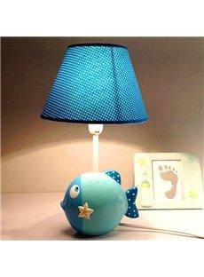 Creative Cartoon Sea Fish Design Nursery Table Lamp
