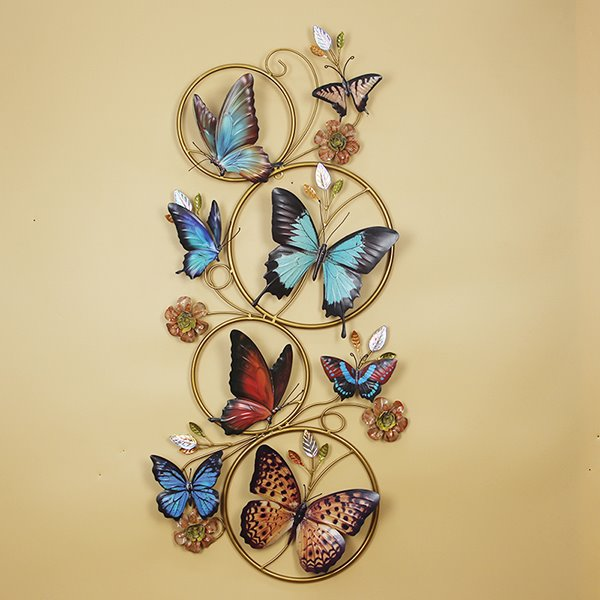 Gorgeous Decorative Butterfly Iron Works Wall Art