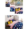 Colorful Balloon Childhood Memories Theme Kids Duvet Cover Set