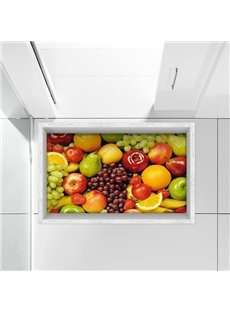 Fresh Delicious Fruits Kitchen Water-Proof Slipping-Preventing 3D Floor Sticker