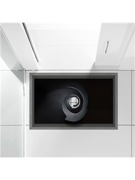 Light Shining Through Little Hole  Slipping-Preventing Water-Proof Bathroom 3D Floor Sticker