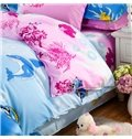 Cartoon Sea World Tropical Fish Print 4-Piece Duvet Cover Sets