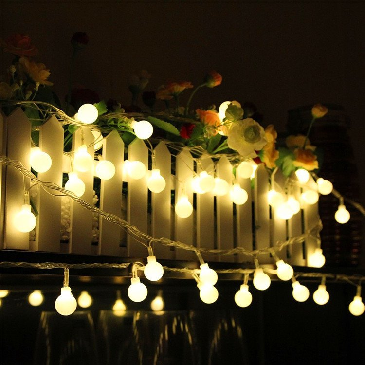 Decorative Festival 10-Meter 80 Round Indoor Outdoor LED String Lights