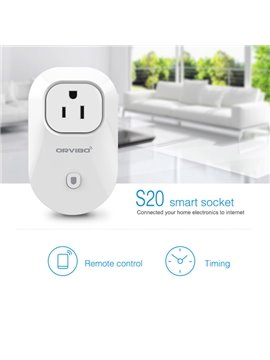 Timer Socket Outlet Switch Smart Digital WiFi Remote Control US Plug
