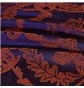 Luxury European Jacquard Design 4-Piece Cotton Duvet Cover Sets