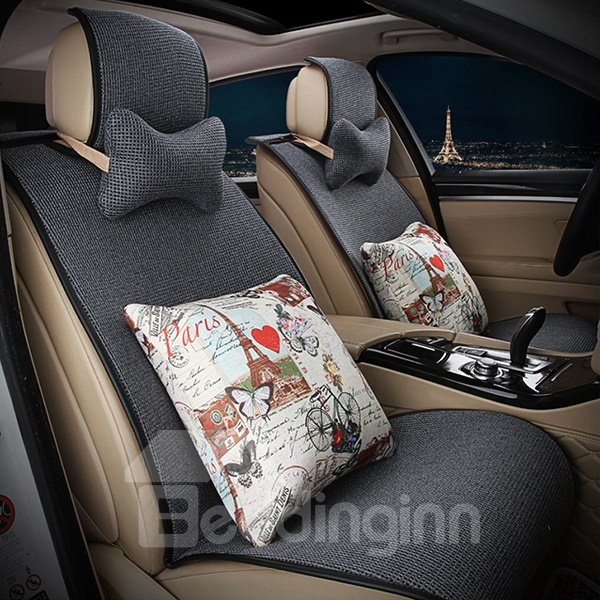 Comfortable and Graceful with Cushion Car Seat Cover Set