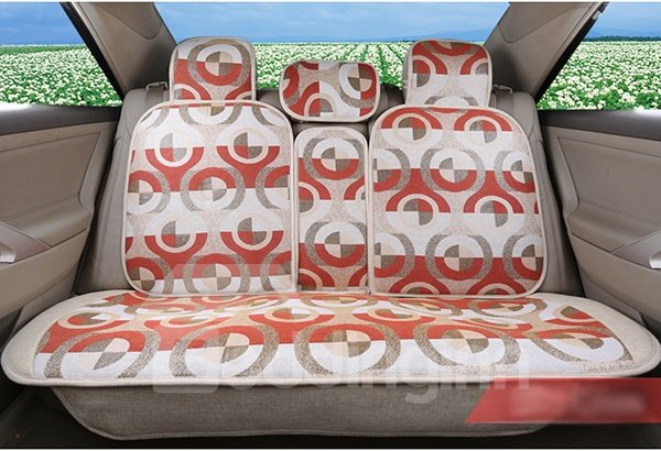 Outstanding Beautiful Geometric Patterned Car Seat Cover