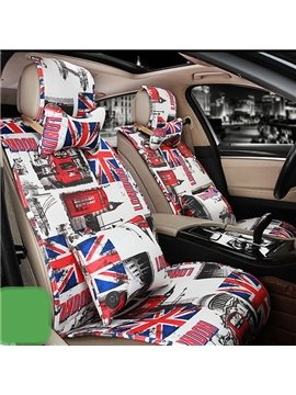 Modern Designed England Impression Car Seat Cover