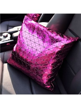 Shiny Pure Colored Premium Car Seat Pillow