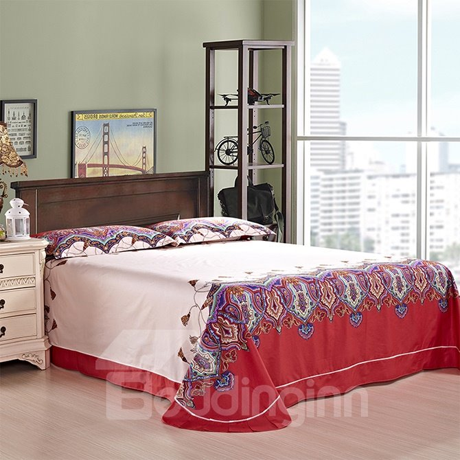 Well-made European Jacquard Style 4-Piece Duvet Cover Sets