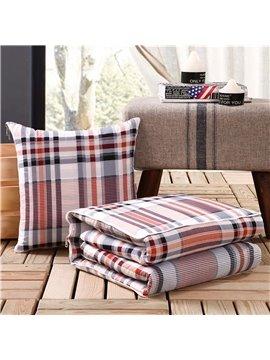 Cozy Cotton Quillow Convertable Blanket Car Pillow