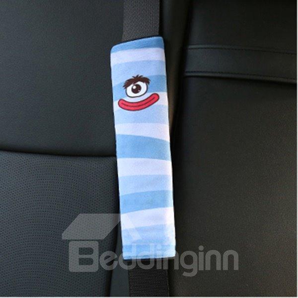 Creative Cartoon Figured Red Lips Monster Seat Belt Cover
