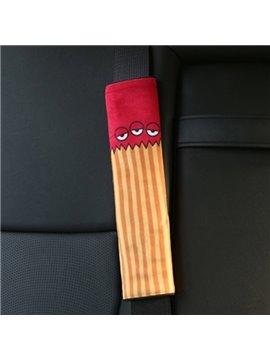 Creative Cartoon Figured Triple Eyes Monster Seat Belt Cover