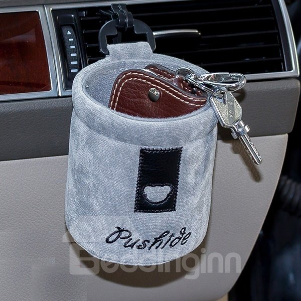 Soft and Solid Cotton Car phone Holder
