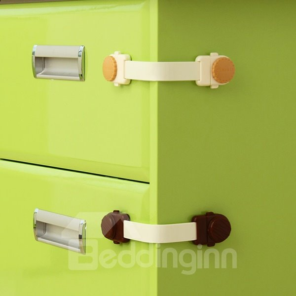 Soft and Safe 2 Piece Baby Safety Cabinet & Drawer Locks