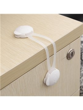 Simple Style White Baby Safety Cabinet & Drawer Locks