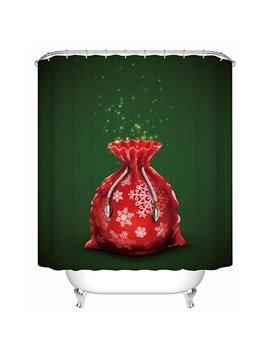 Sweet Lovely Red Furtune Bag Shower Curain