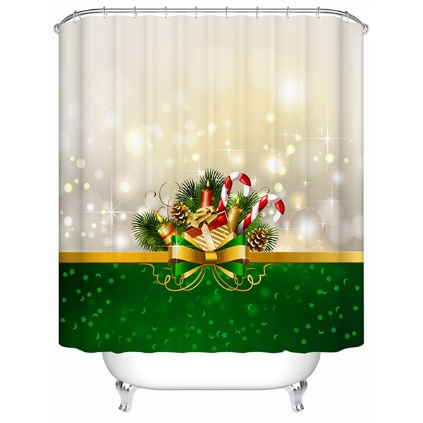 Dreamlike Lovely Fresh Christmas Presents Shower Curtain