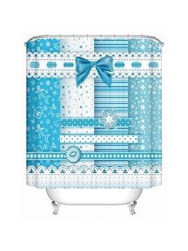 Creative Unique Design Partysu Snow Shower Curtain