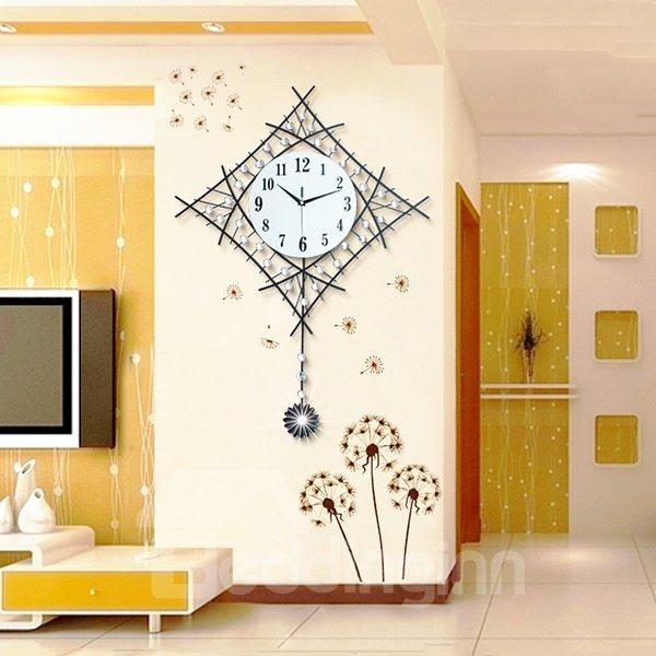 Fantastic Decorative Modern Pendulum Mute Wall Clock