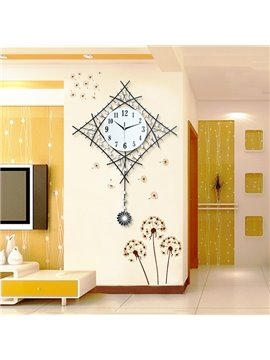 Fantastic Decorative Modern Pendulum Mute Wall Clock