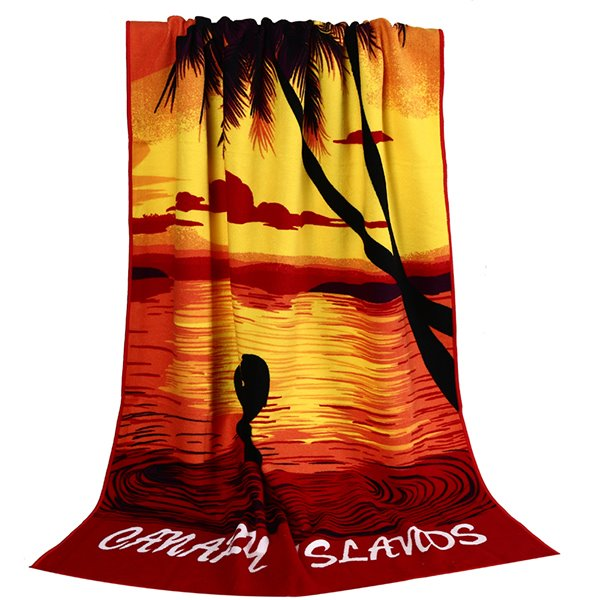 Noble Fashion Coconut Tree in the Sunset Bath Tower