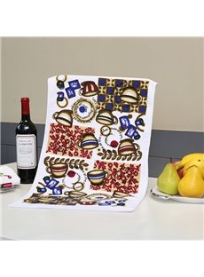 Wonderful Brisk Coffee Cups Printing Face & Hand Towel