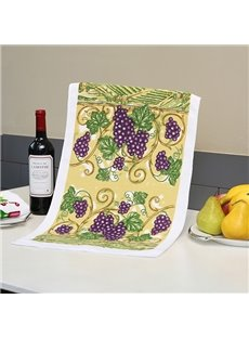 Wonderful Vineyard Printing Face & Hand Towel
