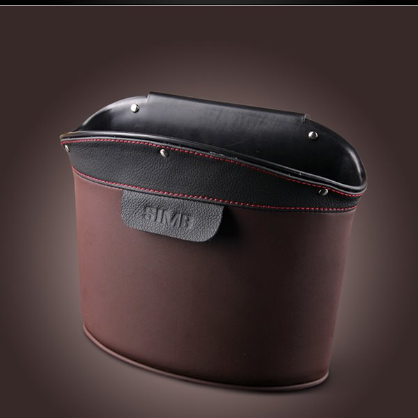 Durable And Refinement PU Leather Material Car Backseat Organizer